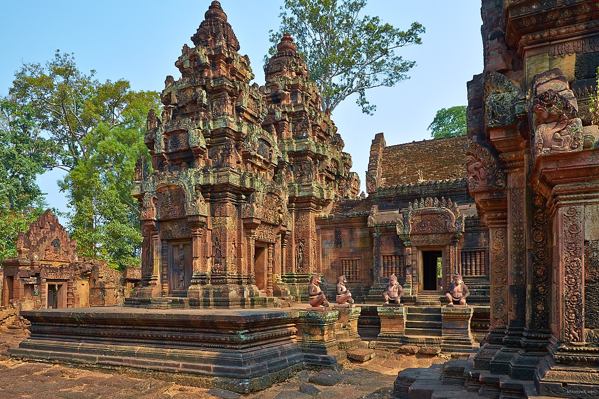 Banteay Srei, Temple in Angkor, Cambodia