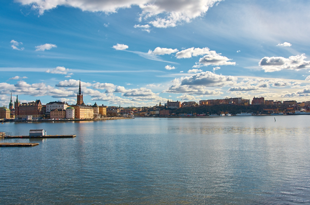 A last view of Gamla Stan