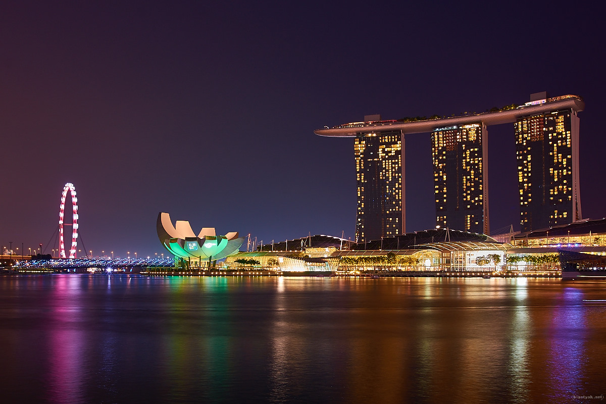 Marina Bay Sands @ night