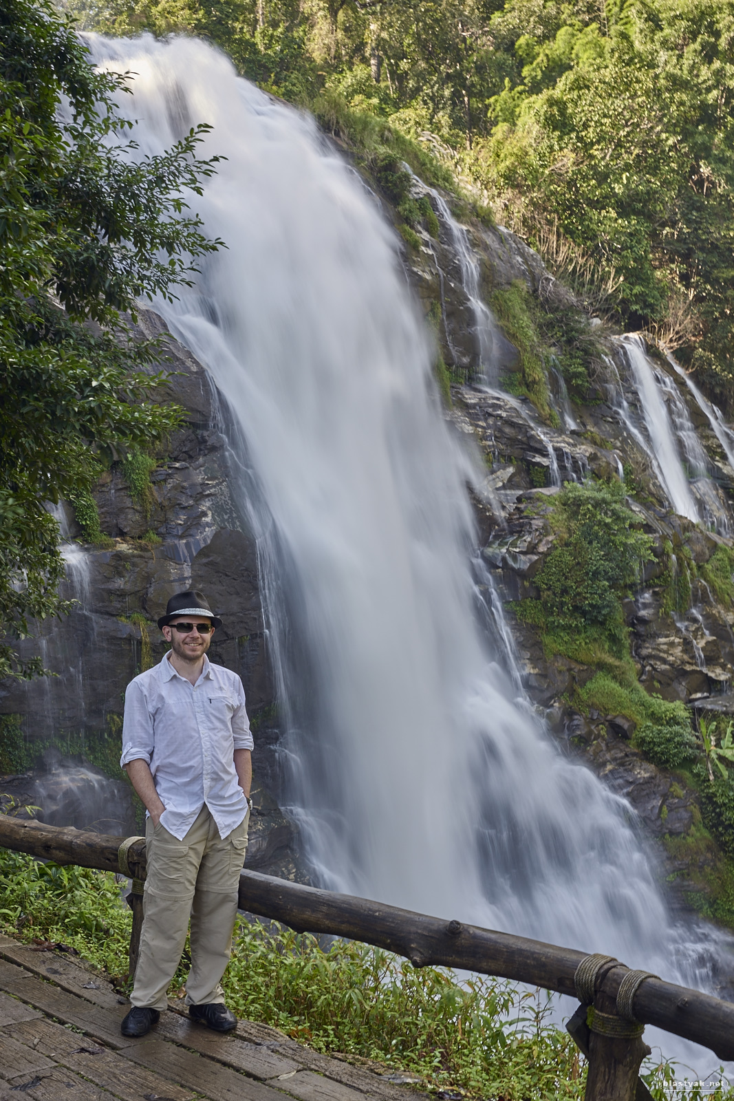 Me at one of the waterfalls